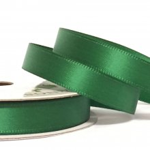 10mm Satin Ribbon Holiday Green