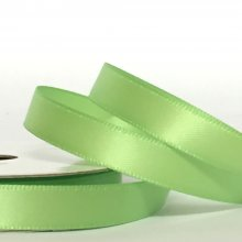 10mm Satin Ribbon Lime