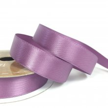 15mm Satin Ribbon Amethyst