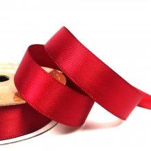 15mm Satin Ribbon Cranberry