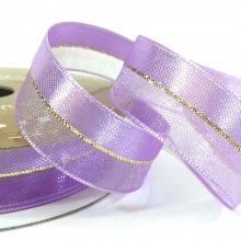 15mm Duo Shimmer Ribbon Lavender