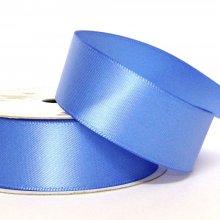 22mm Satin Ribbon Iris Blue