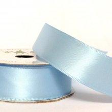 22mm Satin Ribbon Light Blue