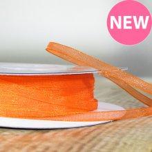 3mm Organza Ribbon Orange - 45m
