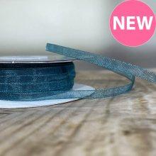 3mm Organza Ribbon Teal - 45m