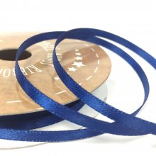 3mm Satin Ribbon Navy Blue