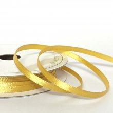3mm Satin Ribbon Old Gold