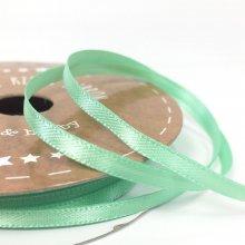3mm Satin Ribbon Soft Mint