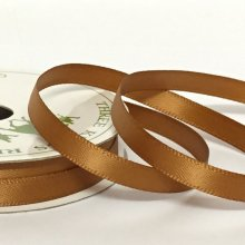 6mm Satin Ribbon Milk Chocolate