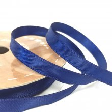 6mm Satin Ribbon Navy Blue