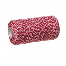 2mm Bakers Twine Red