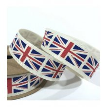 15mm twill tape union flag -25m to clear