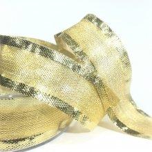 25mm Metallic Gold Ribbon