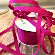10mm Grosgrain Hot Pink Ribbon Bumper 90m