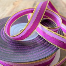 10mm satin duo lilac / lavender -25m