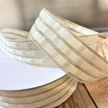 40mm Art Deco White Gold wired - 50m