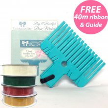 Big & Small Bow Makers with how to leaflet PLUS  £10 Ribbons FREE