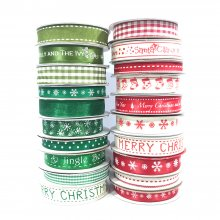 Ultimate Festive Homespun Ribbon Collection