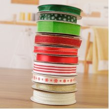 Fantastic Ribbons Staying at Home this Christmas Collection - 10 Rolls