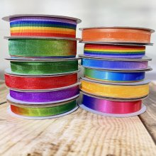Fantastic Ribbons Rainbow Collection - 12 Rolls