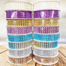 Rhinestone and Pearl Cake & Craft Collection