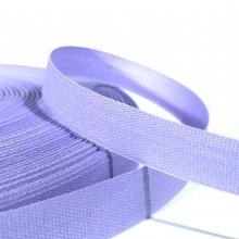 15mm Cotton Tape Ribbon Lilac