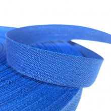 15mm Cotton Tape Ribbon Royal Blue