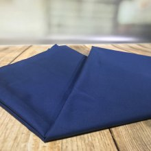 100% PURE Cotton Fabric Navy - 115cm wide