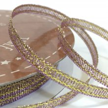 3mm Golden Accents Ribbon Light Lilac