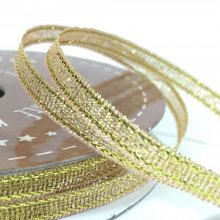 3mm Golden Accents Ribbon Light Pink
