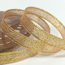 6mm Golden Accents Ribbon Light Pink