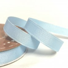 10mm Grosgrain Ribbon Powder Blue
