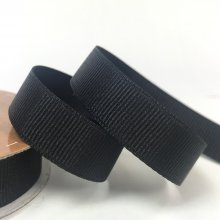 15mm Grosgrain Ribbon Black