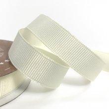 15mm Grosgrain Ribbon Ivory