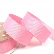 15mm Grosgrain Ribbon Rose Bud