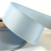25mm Grosgrain Ribbon Light Blue