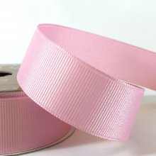 25mm Grosgrain Ribbon Light Pink