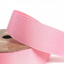 25mm Grosgrain Ribbon Rose Bud