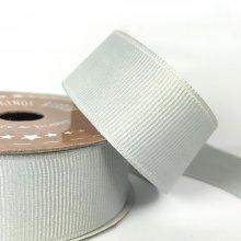 25mm Grosgrain Ribbon Slate Grey