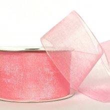 38mm Organza Ribbon Pink Delight