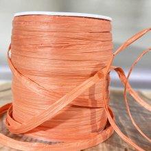 Paper Raffia Tying Ribbon Coral - 90m