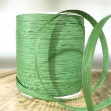 Paper Raffia Tying Ribbon Leaf Green - 90m