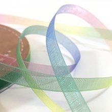 6mm Organza Rainbow Ribbon