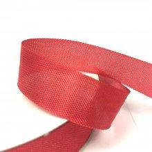 15mm American Seam Binding Ribbon Red