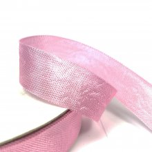 15mm American Seam Binding Ribbon Soft Pink
