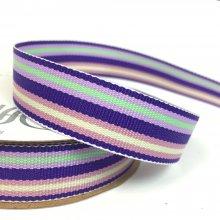 15mm Hotline Ribbon Purple