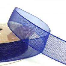 15mm Tropic Organza Ribbon Blueberry