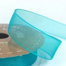 15mm Tropic Organza Ribbon Oceana