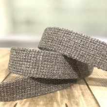 25mm Webbing Taupe - 15m