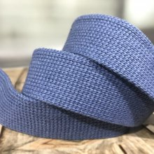 35mm Webbing Denim Blue